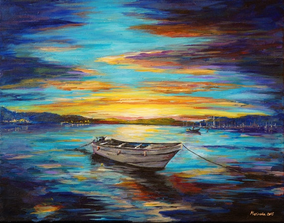 Stanley Ships Oil Painting