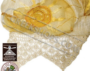 Greek Silk Shawl / Scarf Style YS373