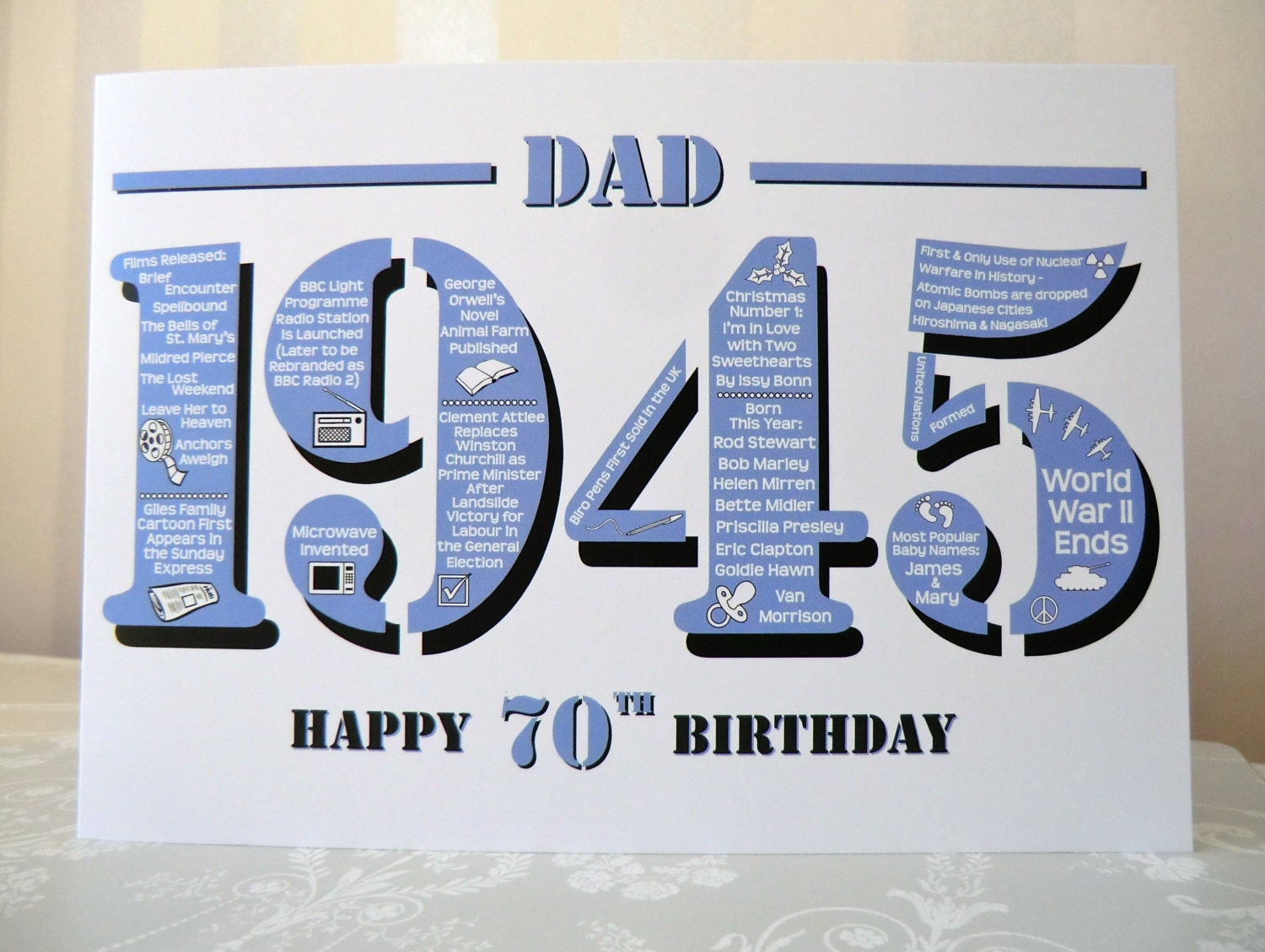 70th Birthday Decorations For Dad Image Inspiration of Cake and