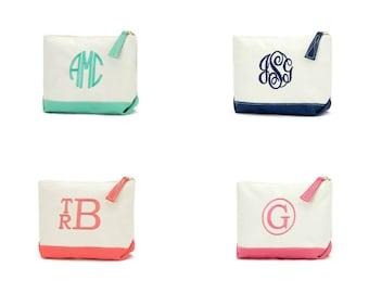 Monogram Canvas-Bridesmaid Gift-Graduation Gifts