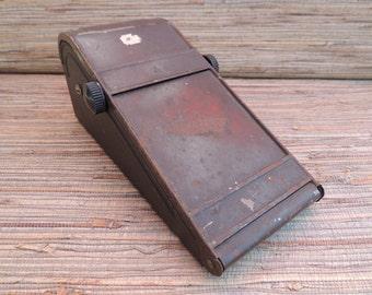 Vintage Industrial Prevue-Radsell Co Sales Receipt Machine