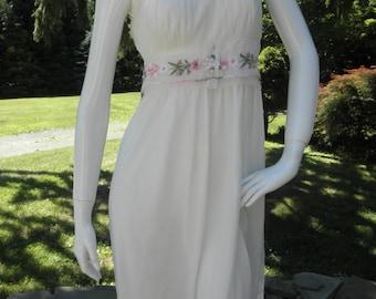 Sheer Nylon Nightgown