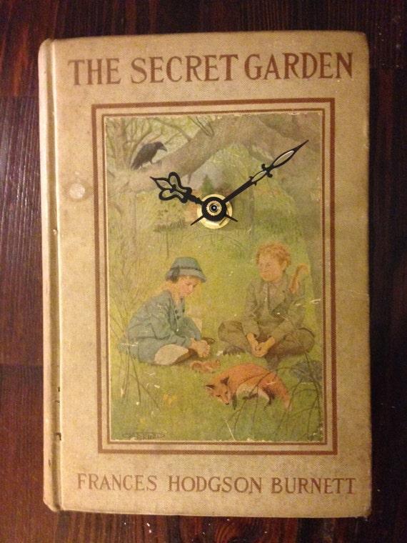 Bookclock The Secret Garden By Frances Hodgson Burnett