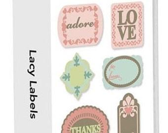 Lacy Labels, NEW Cricut Cartridge