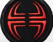 "City Of Heroes / Villains Inspired ""LORD RECLUSE"" / Villain Side 3"" Patch Sew On Or Velcro Back (your choice)"