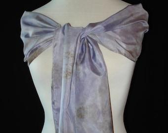 Silk Scarf - Soft Lilac