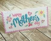 Happy Mother's Day Printable Bag Topper, birthday, favor, customizable- PR30-HMDAY