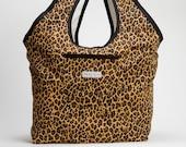 Large Cheetah Urban Shopping Tote