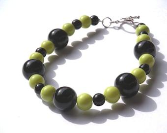 Black and Green Bracelet