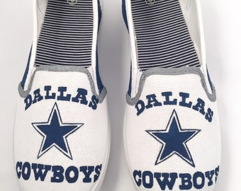 Hand painted Dallas Cowboys Shoes