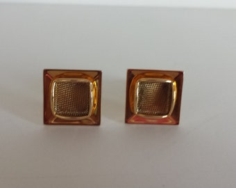 Pair of Goldtone Cuff Links