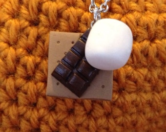 S'more Ingredients Necklace