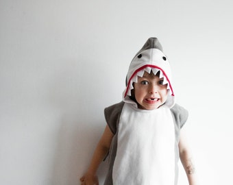 Shark Costume, Halloween Costume, Party Costume, Halloween Costume for Boys or Girls, Toddler Costume, Shark Fin