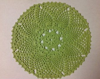 Mint Green Doily 7""