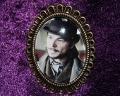 Ethan Chandler - Penny Dreadful Victorian Photograph Brooch