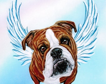 "Shop ""english bulldog"" in Pet Portraits"