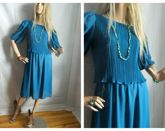 50% off Vintage Boho Sheer Disco Dress Size XS-Small