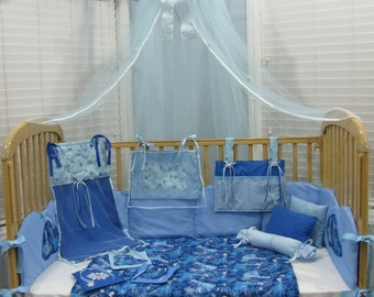 Disney's Frozen Queen Elsa 15 Piece Baby Bedding Crib Set