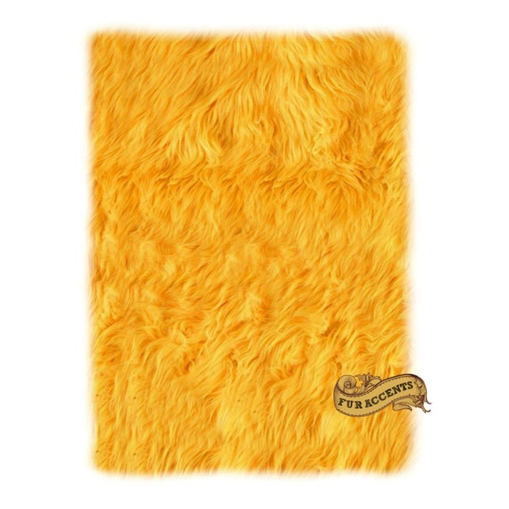 FUR ACCENTS Classic Rectangle Sheepskin Area Rug / By