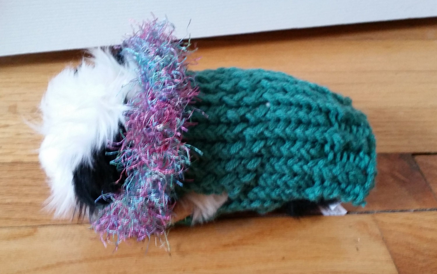 Guinea Pig Sweater Knitting Pattern : Hand Made Double Knit Guinea Pig Sweater by ChiliDogsPetSweaters