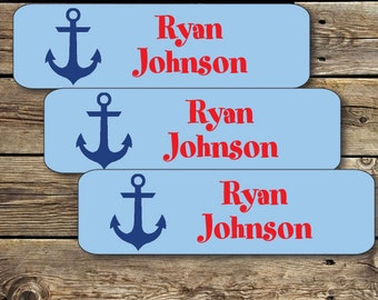 Camp Labels 80 Permanent Waterproof Durable Dishwasher Safe Kids Stickers, Perfect to label items going to Camp