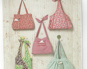 Simplicity 2381 Bags sewing pattern c. 2010 UNCUT