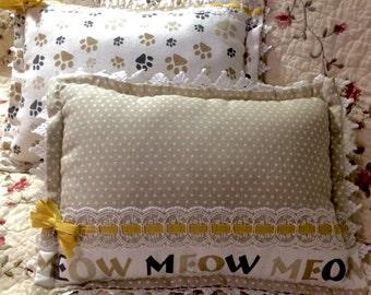 Sale!!! Purrrrrfectly Plump Pillows