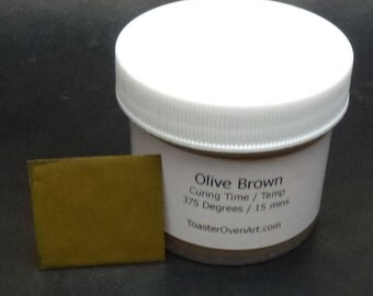 Olive Brown Powder Paint