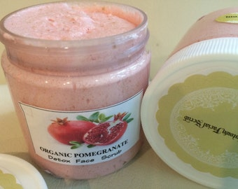 Pomegranate - Detox Facial Cleansing Scrub SPA UPTOWN -8 fl oz