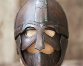 Leather Helmet of Gladiator/Spartacus