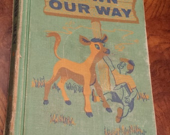 1956 Down Our Way Childrens Book by Guy Bond