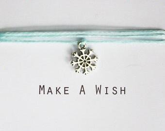 Make A Wish Snowflake Bracelet