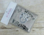 Novelty Military Army Special Forces Wives - Kill A Workout of the Day - Gym Workout Sweat Hand Towel