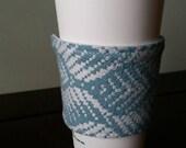 Wrap scrap adjustable cup cozy - Tekhni Persephone Acqua