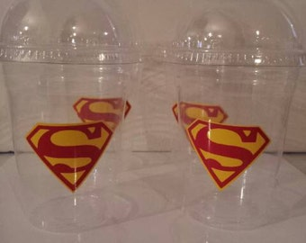 Superman Party Favor Stickers