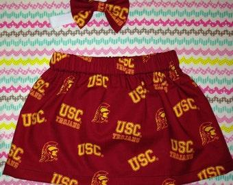 USC little girls skirt