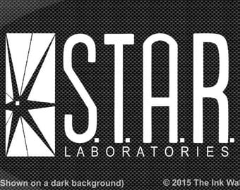 STAR Labs / S.T.A.R. Laboratories Window Decal Sticker The Flash CW