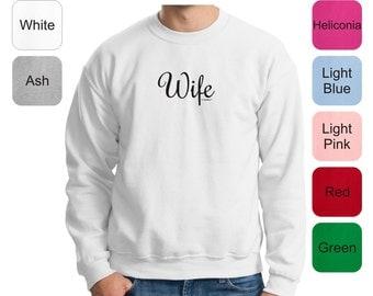 Wife Crewneck Sweatshirt 18000 - FA-517