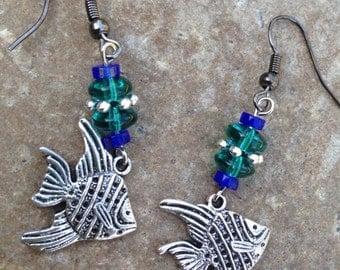 Tropical Fish Bliss Earrings