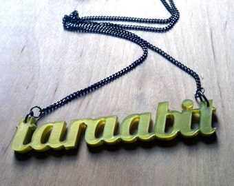 Birmingham and Black Country taraabit necklace