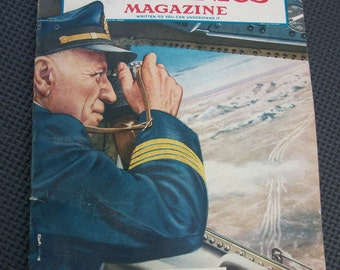 Vintage Popular Mechanics Magazine - January 1950