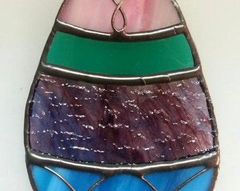 Stained Glass Easter Egg