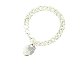 Silver Plated Sweet 16 Bracelet RL (Free Shipping)