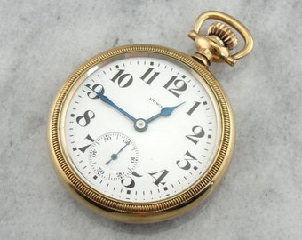 E. Howard Of Boston Antique Railroad Pocket Watch RZLWTP-D