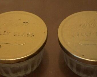 Vintage Kerr Jelly Jars- Lot of 3