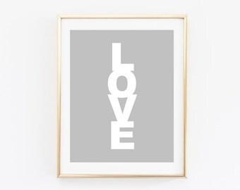 Modern Love Print - Love Print - Simple Love Print