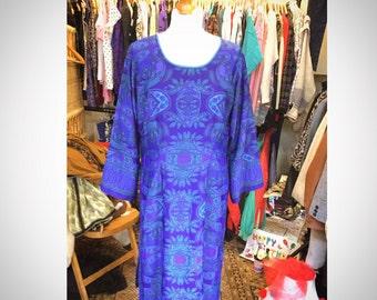 Boho Paisley Dress