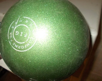 Green Sparkly French 70s Vintage Ball