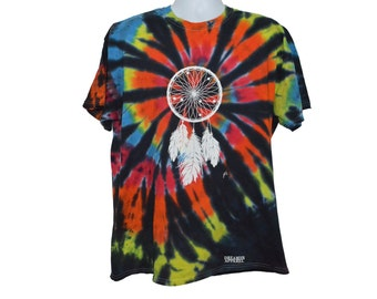 Tye dye Dream catcher shirt