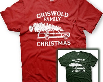 Griswold Family Christmas T-Shirt -Vacation Movie - Wagon Queen Family Truckster